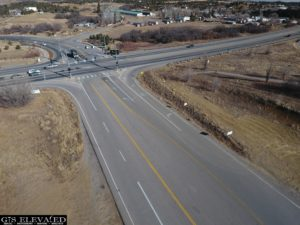 US 160 & 3 Springs Intersection View