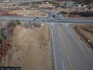 US 160 & 3 Springs North view